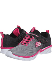 SKECHERS KIDS - Swirly Shine Vibe (Little Kid/Big Kid)