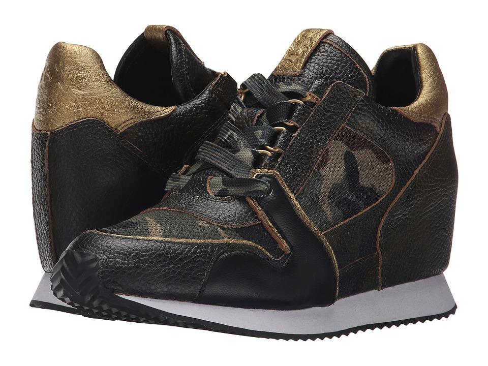 ASH Dean Camo Army Multi Camo Tumble/Camo Womens Lace up casual Shoes