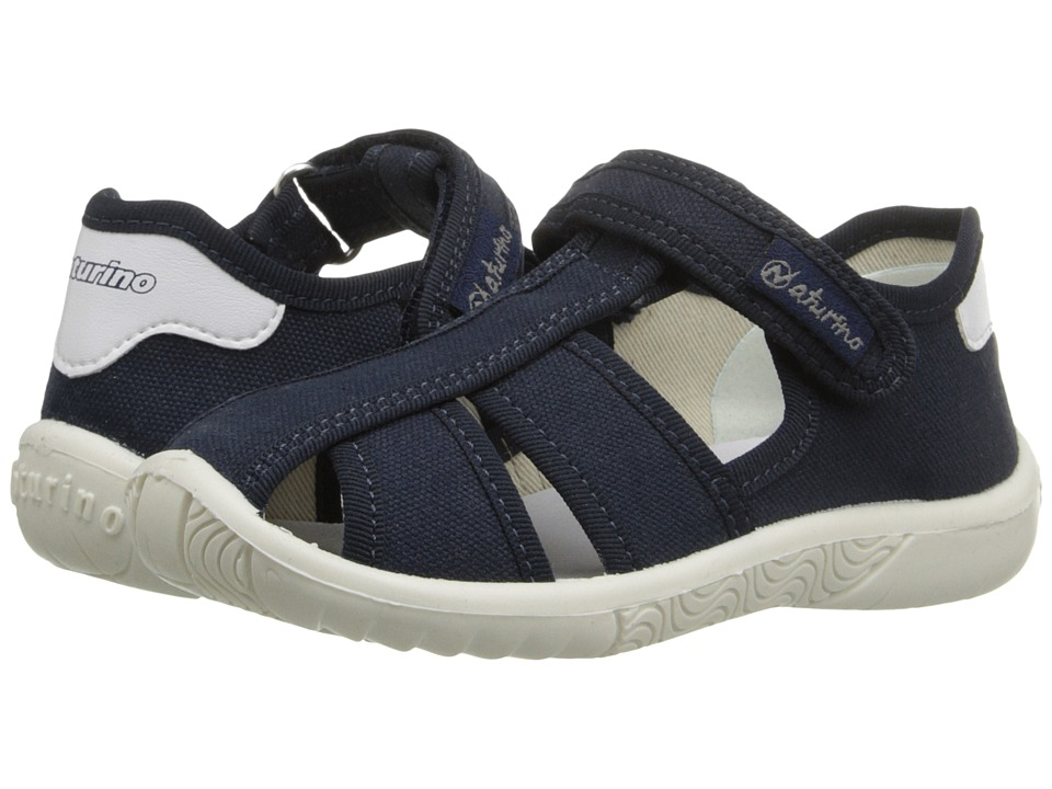 Naturino Nat. 7785 SS16 Toddler/Little Kid Navy Canvas Boys Shoes