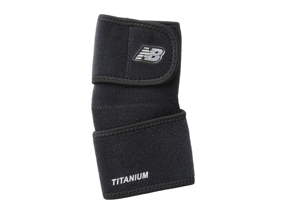 New Balance Adjustable Elbow Support Black Athletic Sports Equipment