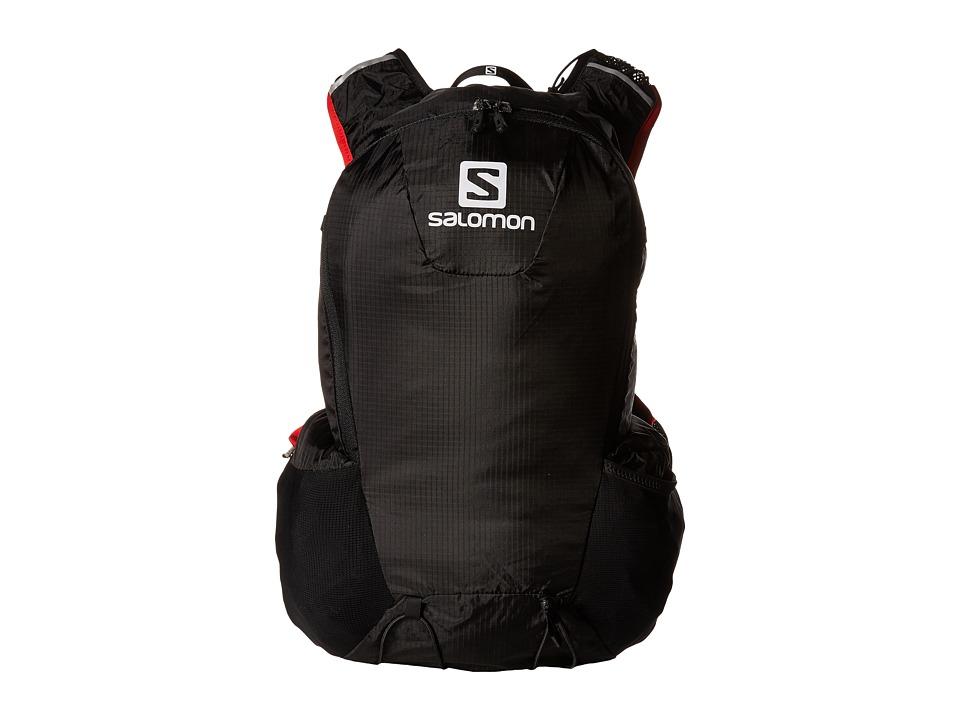 Salomon - Skin Pro 15 Set (Black/Bright Red) Backpack Bags