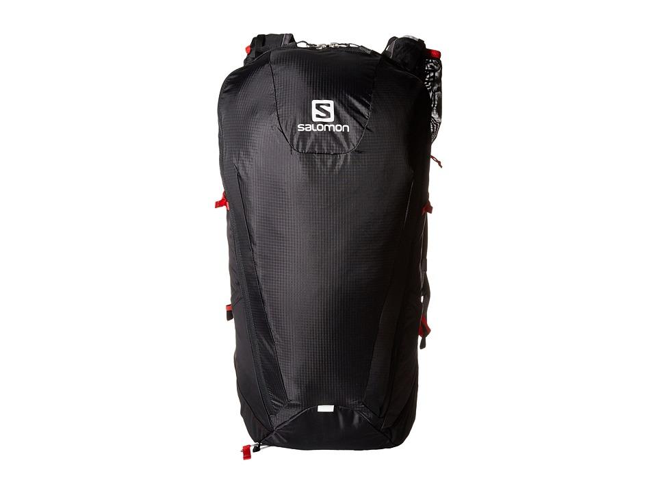 Salomon - Peak 30 (Black/Bright Red) Backpack Bags