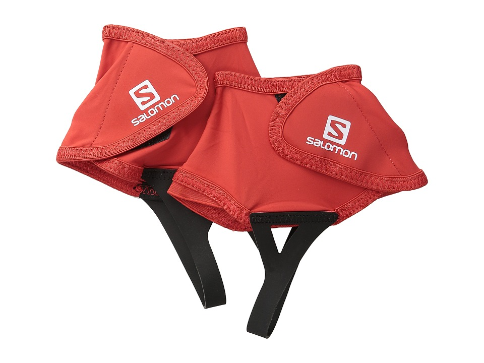 Salomon Trail Gaiters Low (Bright Red) Overshoes Accessor...