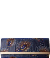 Jessica McClintock - Addison Fold-Over Feather Bar Clutch
