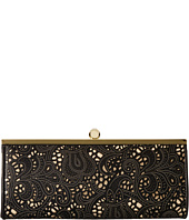 Jessica McClintock - Carla Metallic Lace Framed Clutch