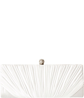 Jessica McClintock - Flora Satin Rouched Framed Clutch