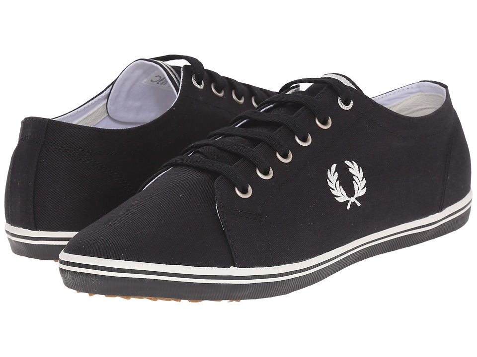 Fred Perry Kingston Twill (Black/Porcelain) Men