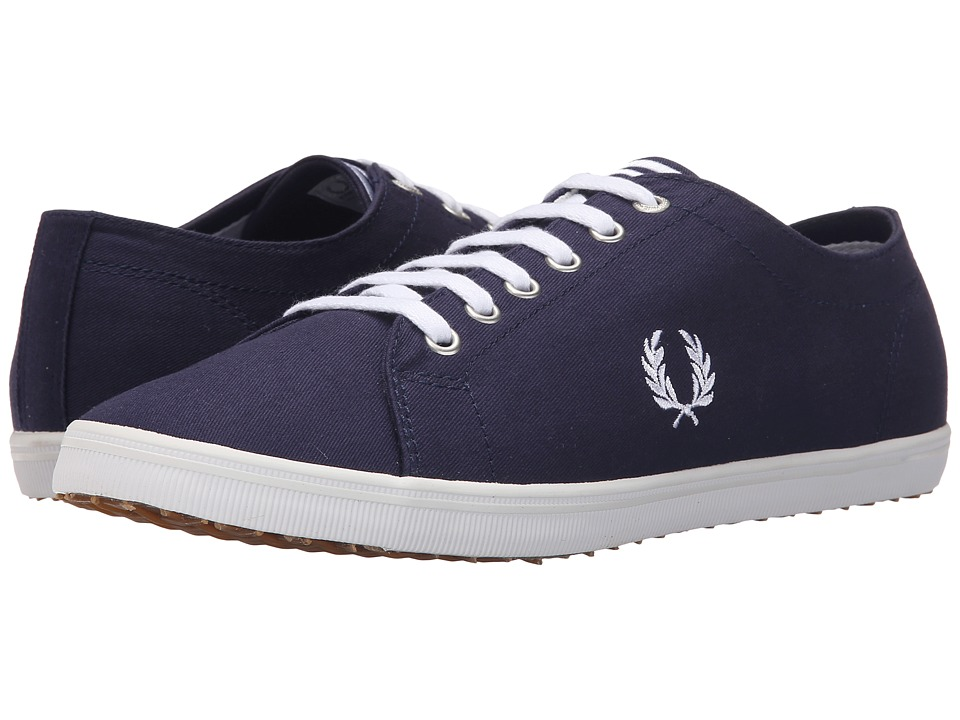 Fred Perry - Kingston Twill (Carbon Blue/White) Men