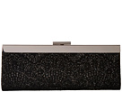Jessica McClintock Kylie Framed Lace Clutch (Black/Black)