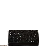Jessica McClintock - Chloe Fold-Over Crystal Clutch