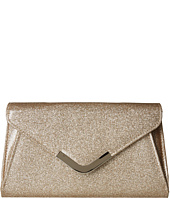 Jessica McClintock - Lily Small Glittered Envelope Clutch