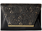 Jessica McClintock Ryder Lace Envelope Clutch (Black)