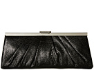 Jessica McClintock Blaire Framed Clutch (Black)