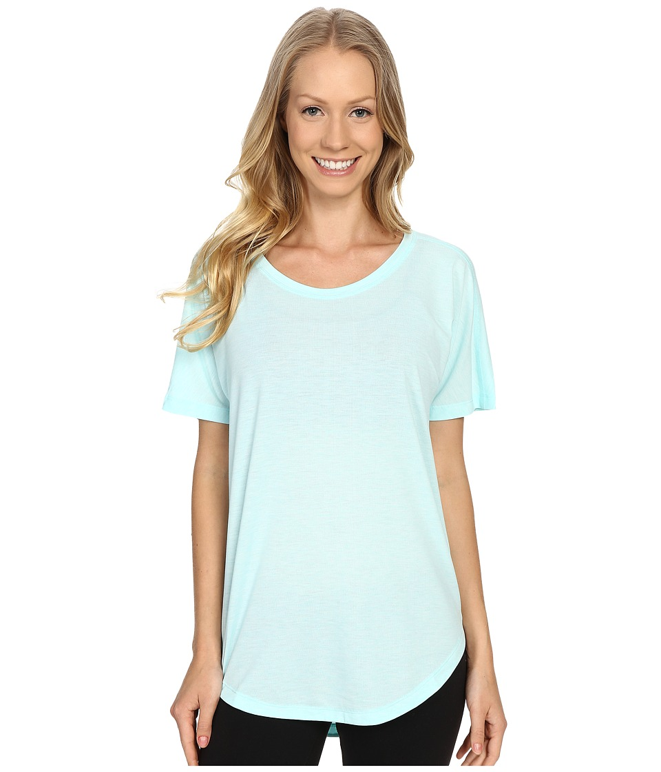 Lucy Final Rep S/S Mist Green Heather Womens Short Sleeve Pullover