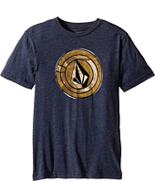 Volcom Kids - Afro Circle Short Sleeve Tee (Big Kids)