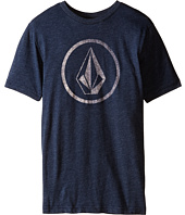 Volcom Kids - New Circle Short Sleeve Tee (Big Kids)
