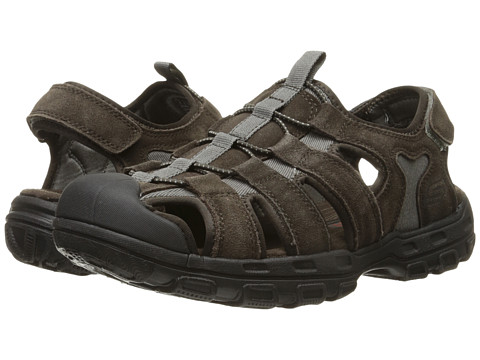 SKECHERS Relaxed Fit 360 Gander - Selmo - Brown