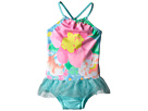 Seafolly Kids Spring Bloom Apron Tank Top One Piece