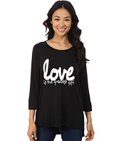 CJ by Cookie Johnson - 3/4 Sleeve Raglan Top