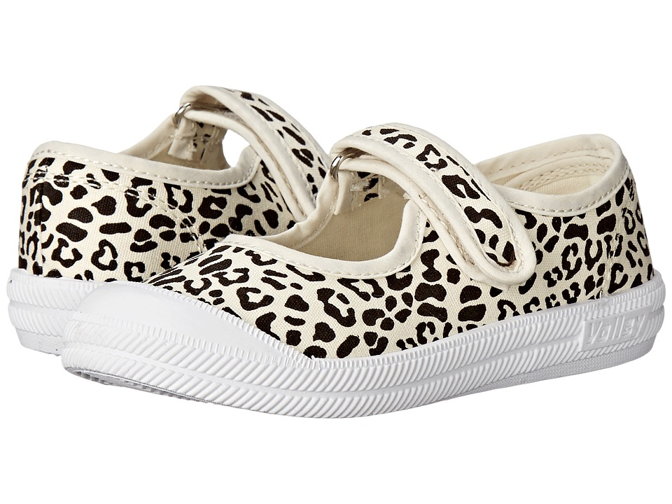 Volley Australia Mary Jane Toddler/Little Kid Antique Leopard Womens Maryjane Shoes
