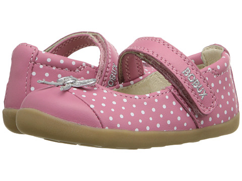 Bobux Kids Step-Up Classic Swing (Infant/Toddler) - Pink/White