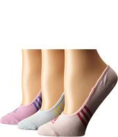 adidas Golf - Climacool 3-Stripes No Show 3-Pack Socks