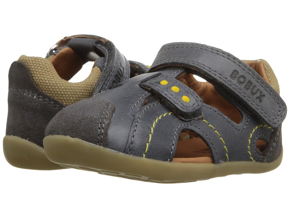 Bobux Kids Step-Up Classic Chase (Infant/Toddler) (Gray) Boy's Shoes