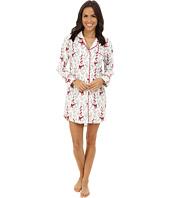 BedHead - Long Sleeve Flannel Nightshirt