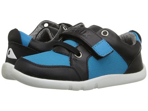 Bobux Kids I-Walk Street Attica (Toddler/Little Kid) - Blue/Black