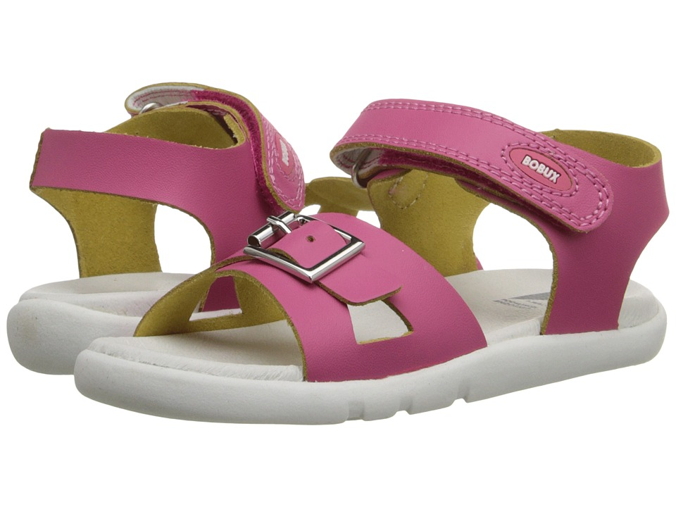 Bobux Kids I Walk Classic Pop Toddler Fuchsia Girls Shoes