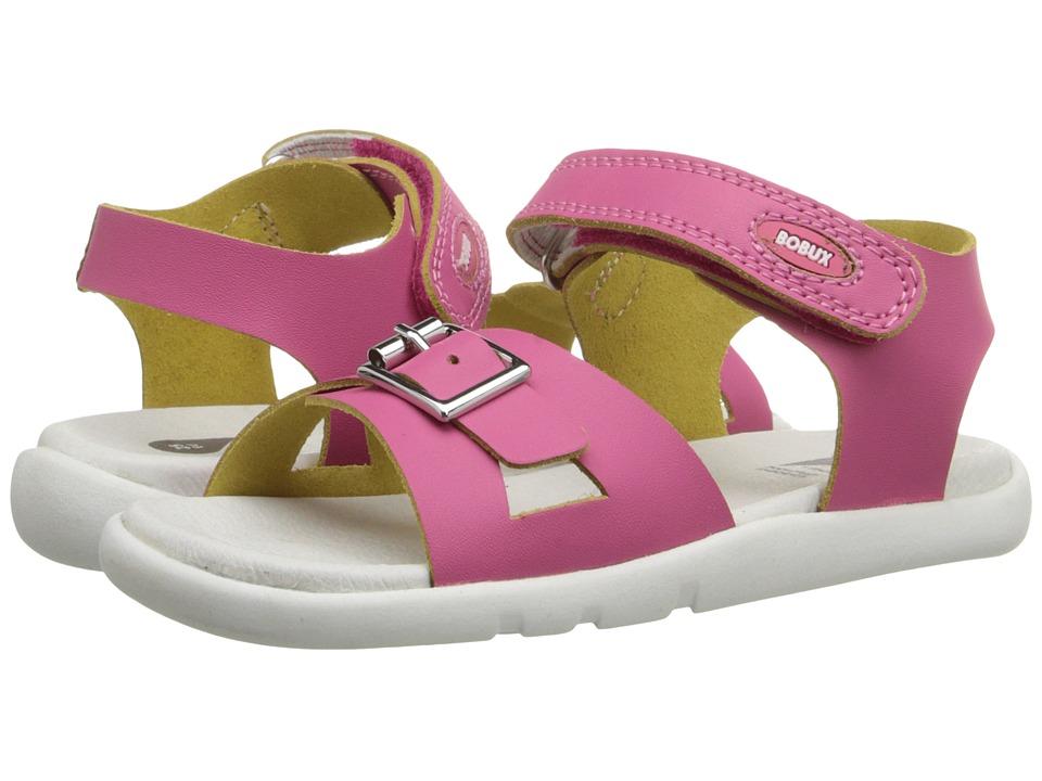 Bobux Kids I Walk Classic Pop Toddler/Little Kid Fuchsia Girls Shoes