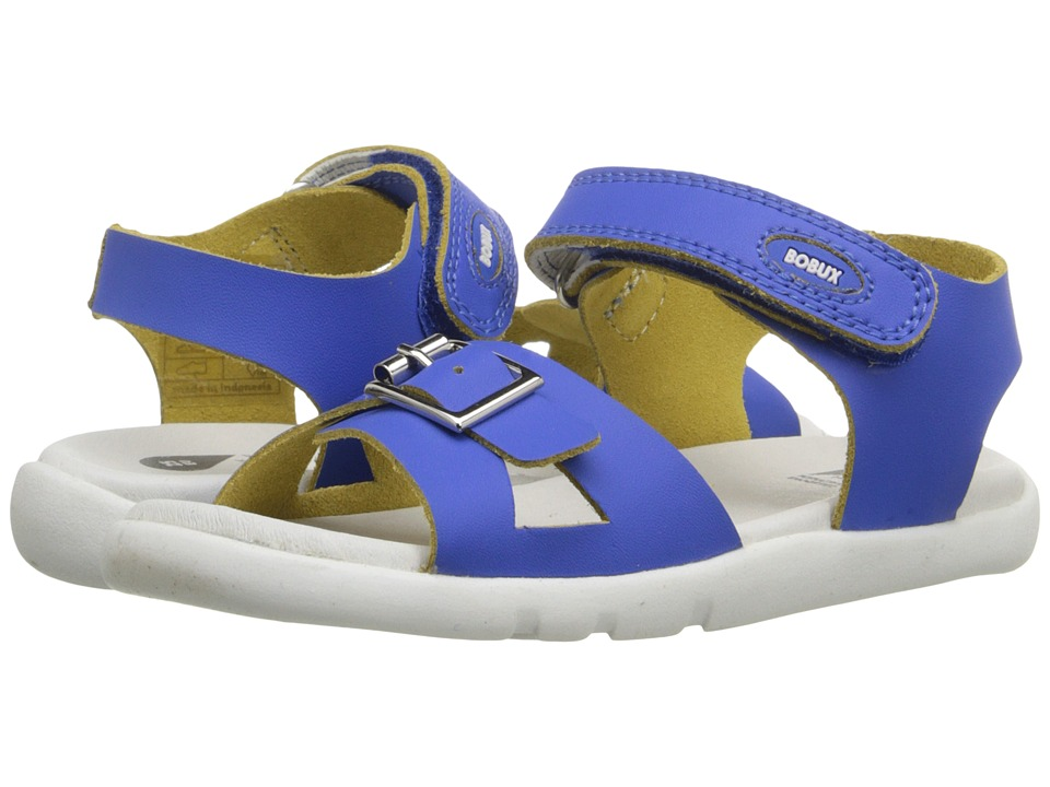 Bobux Kids I Walk Classic Pop Toddler/Little Kid Blue Girls Shoes