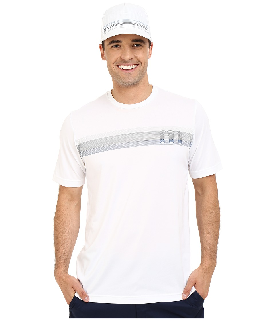 TravisMathew K Sabe Shirt White Mens T Shirt