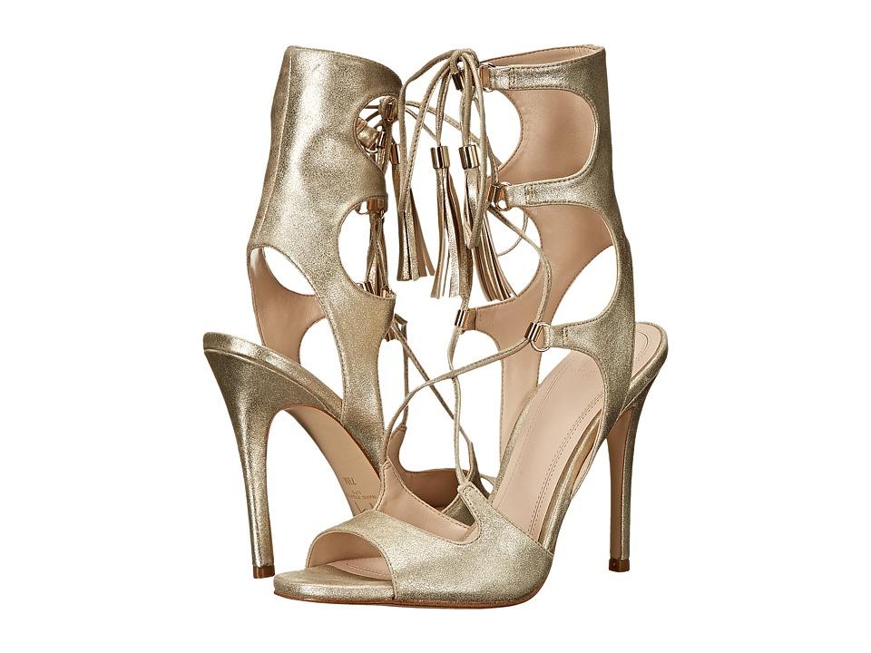 Marc Fisher LTD Larsa Platinum Capri Suede Womens Shoes
