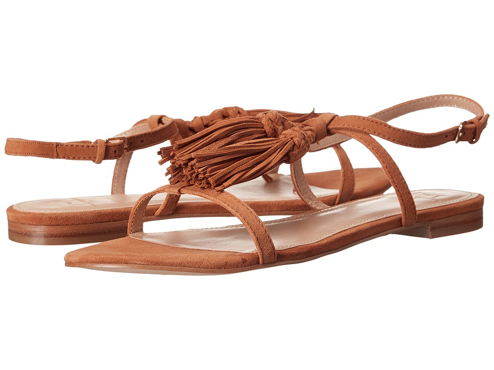 Marc Fisher LTD Crystal Brown Womens Sandals