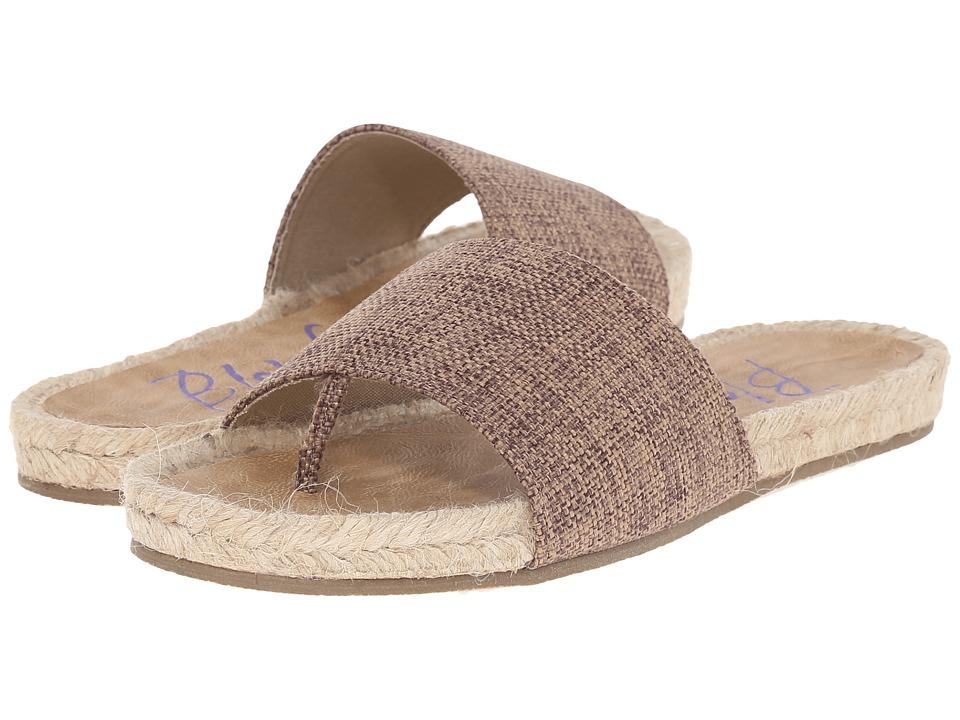 Blowfish Glore Natural Feedbag Canvas Womens Sandals