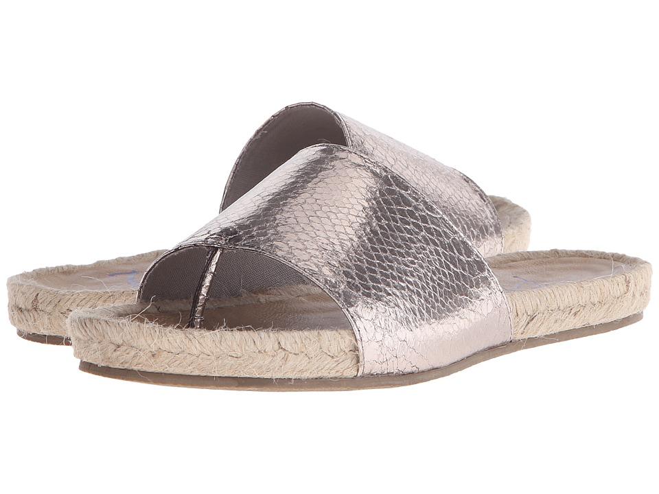 Blowfish Glore Pewter Metallic Snake Pit Womens Sandals