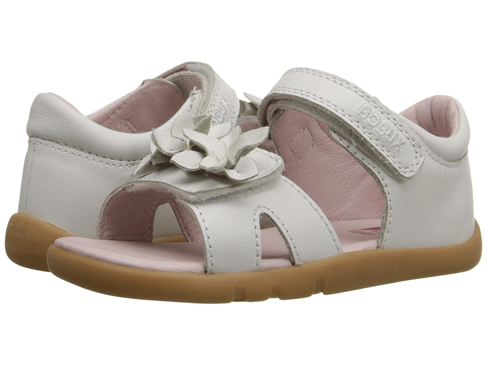 Bobux Kids I Walk Classic Breeze Toddler/Little Kid White Girls Shoes