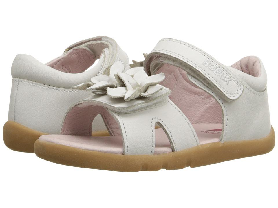 Bobux Kids I Walk Classic Breeze Toddler White Girls Shoes