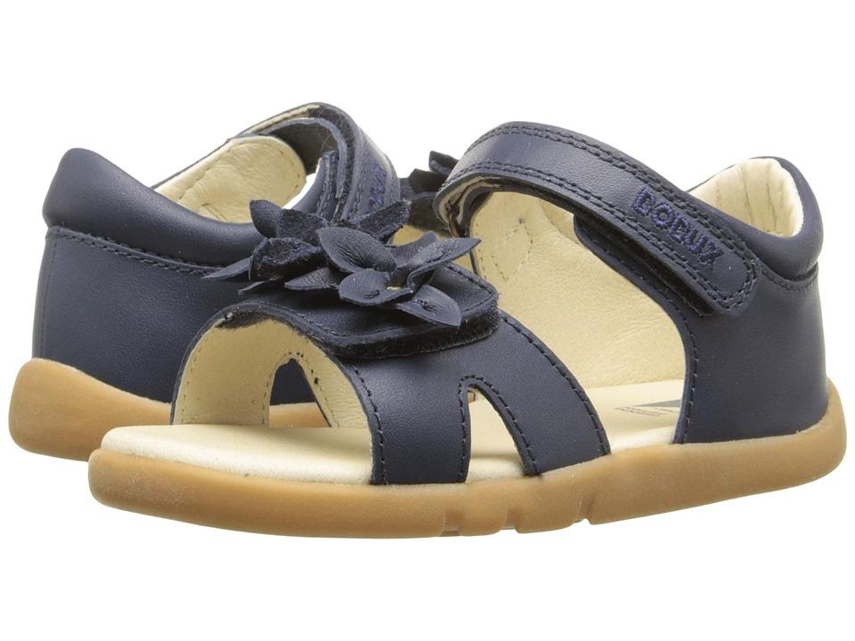 Bobux Kids I Walk Classic Breeze Toddler/Little Kid Navy Girls Shoes
