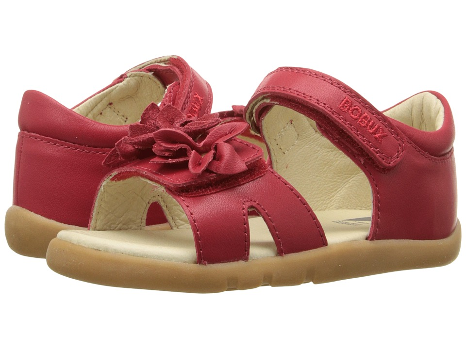 Bobux Kids I Walk Classic Breeze Toddler Red Girls Shoes
