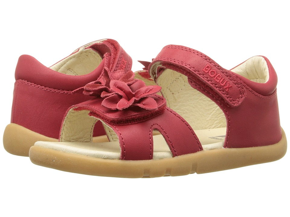 Bobux Kids I Walk Classic Breeze Toddler/Little Kid Red Girls Shoes