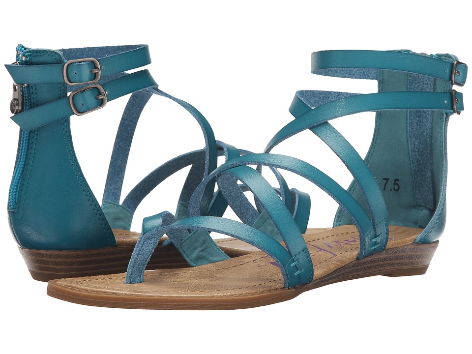 Blowfish Bungalow Lagoon Dyecut PU Womens Sandals