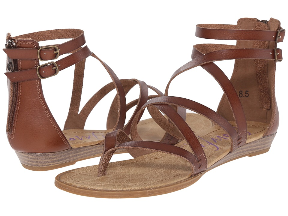 Blowfish Bungalow Whiskey Dyecut PU Womens Sandals