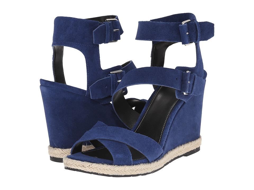 Marc Fisher LTD Karla Kings Blue Sport Tamarin Womens Wedge Shoes
