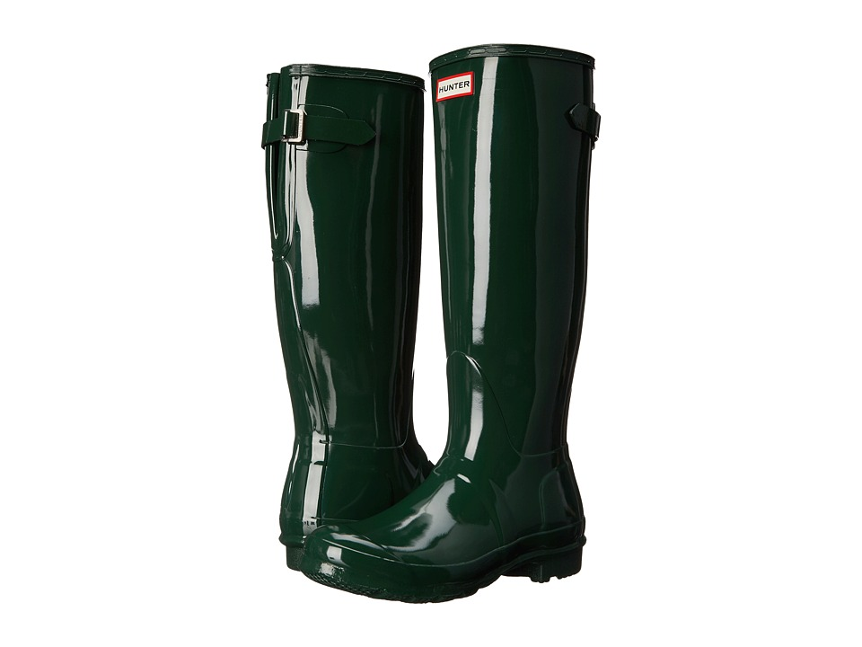 Hunter Original Back Adjustable Gloss (Hunter Green) Women