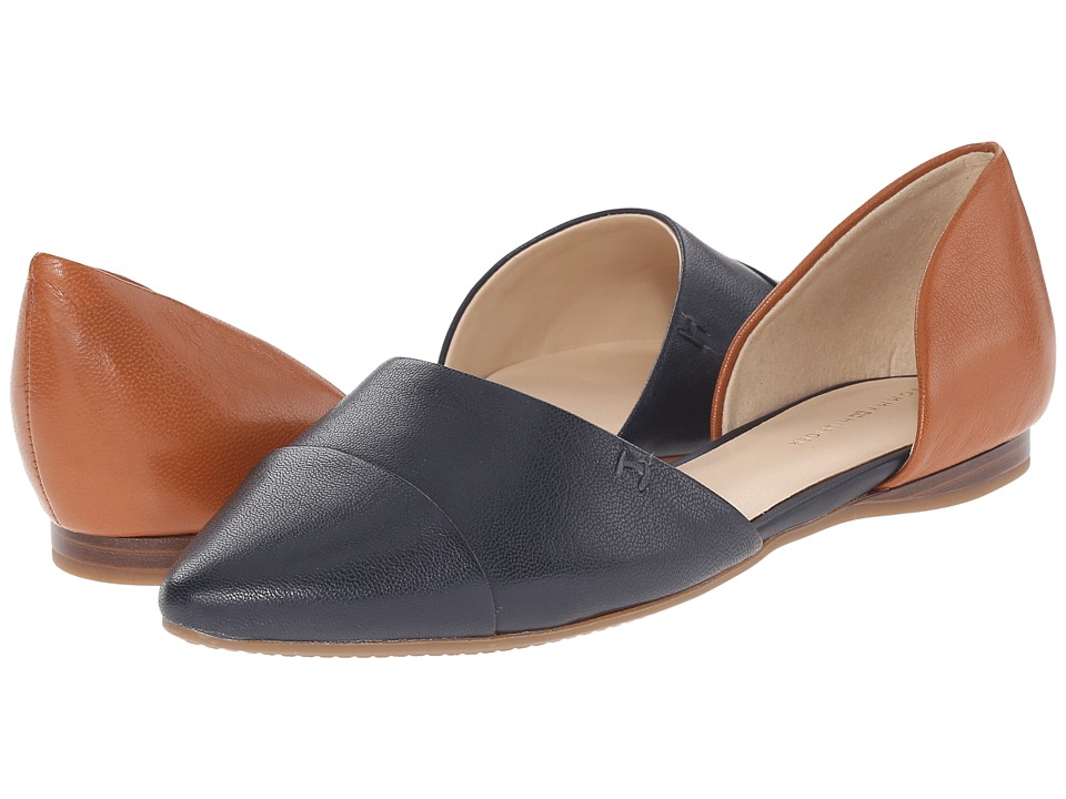 Tommy Hilfiger Naree3 (Marine/Canella Leather) Flats