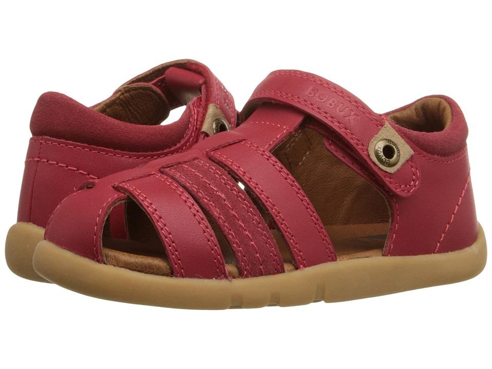 Bobux Kids I Walk Classic Roamer Toddler/Little Kid Red Boys Shoes