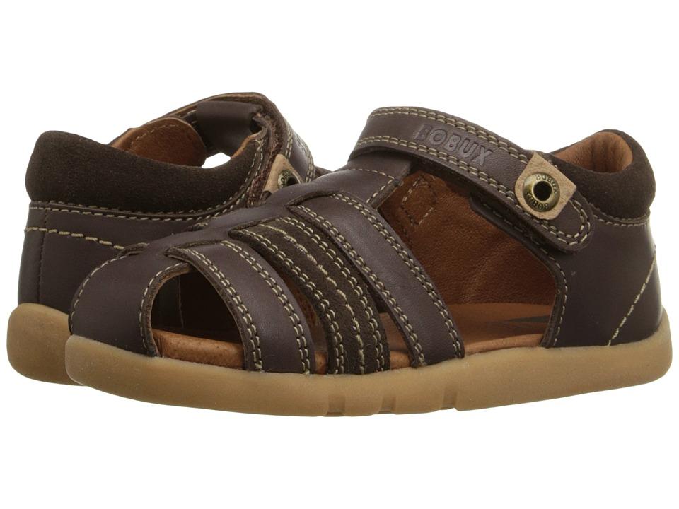 Bobux Kids I Walk Classic Roamer Toddler Brown Boys Shoes