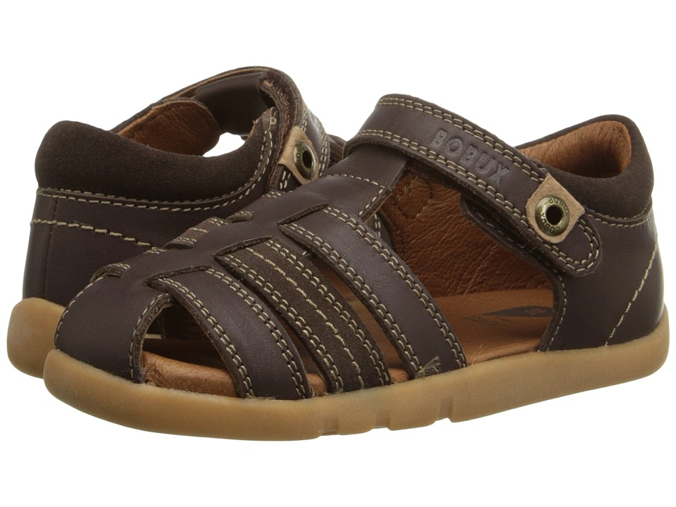 Bobux Kids I Walk Classic Roamer Toddler/Little Kid Brown Boys Shoes